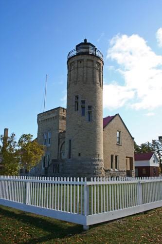 D-LH-264 - Old Mackinac Point Lighthouse. Mackinaw City, MI.