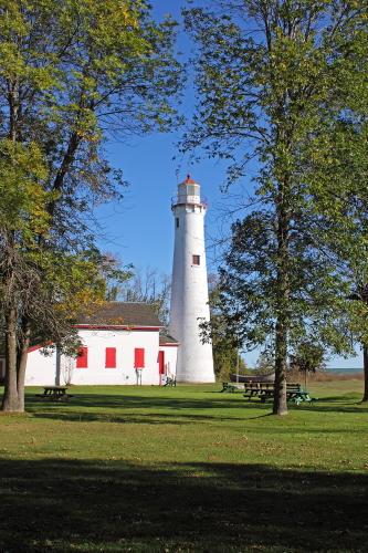 D-LH-469 - Sturgeon Point Lighthouse. Harrisville, MI.