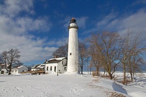 D-LH-688 - Pte. Aux Barques Lighthouse. Lighthouse County Park. Port Hope, MI.