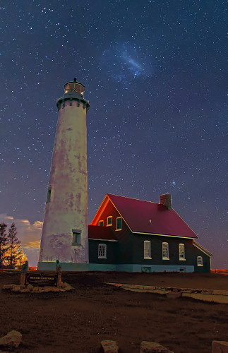 D-LH-763 - Tawas Point Lighthouse, Tawas State Park, Tawas City, MI.