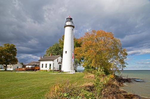 D-LH-787 - Pte. Aux Barques Lighthouse