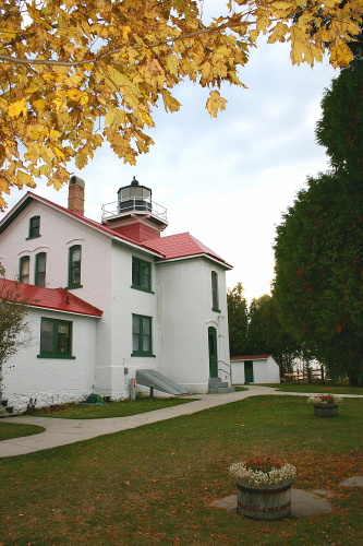 D-LH-79 - Grand Traverse Lighthouse. Leelanau State Park. Northport, MI.