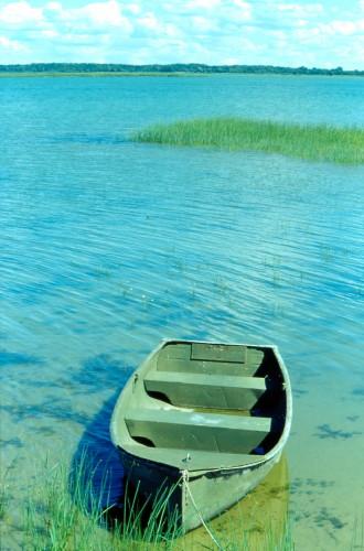 HB-7-19 - Row Boat on Saginaw Bay